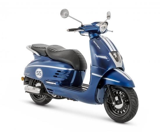 【画像】原付免許で乗れるプジョー50ccが登場!価格は31万円からwwwwwww