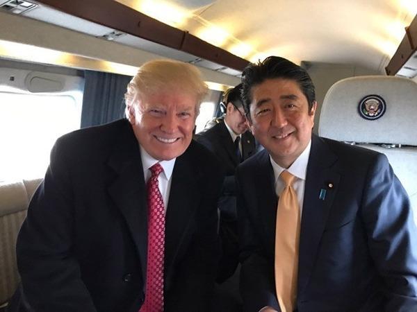 【仲良すぎw】トランプ大統領、安倍首相の誕生日にサプライズ演出www(※画像あり)