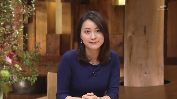 昨日の報ステの小川彩佳・・・ハレンチすぎんだろこいつwwwww(※GIFあり)
