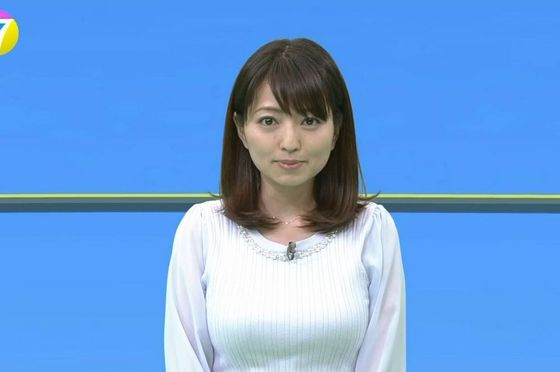 NHKお天気お姉さん、なかなかけしからん体をテレビで披露wwwww(※画像あり)