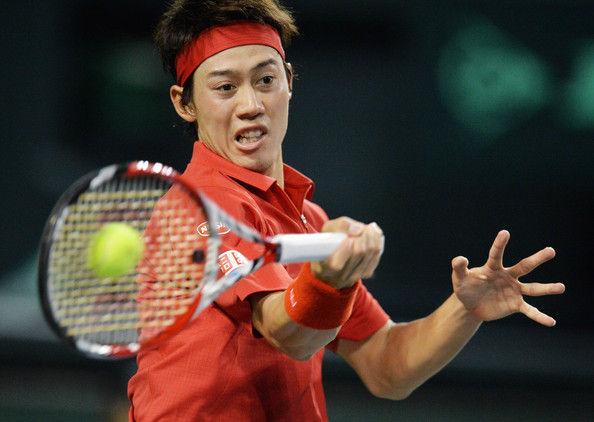 Kei+Nishikori+Japan+v+Colombia+Davis+Cup+World+FnGeFevmT0ll