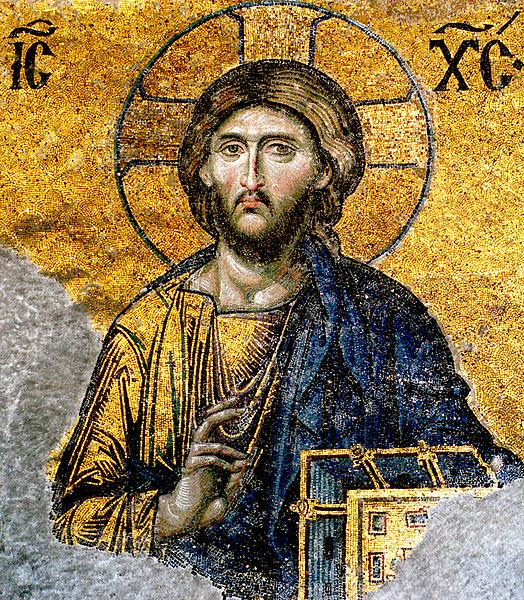 524px-Jesus-Christ-from-Hagia-Sophia