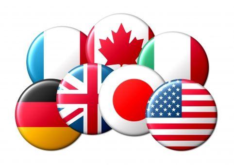 海外の友人(画家)「G7に1国雑魚が混じってるよな。国旗の色が赤と白のあの国」