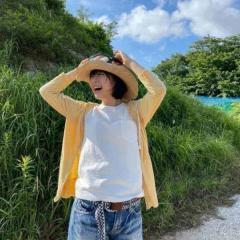 森七菜、麦わら帽子に風鈴の夏らしい姿に歓喜の声「あー天使!」