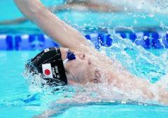 入江陵介「東京の地で決勝を泳ぎ切れたことが幸せ」 男子400メドレーリレー日本新も6位