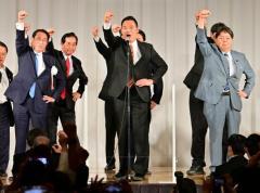 自民党・岸田政調会長 マスク外し『ガンバロー』コール→秘書4人コロナ感染