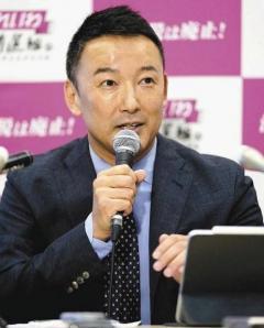 山本太郎氏 衆院選出馬へ  小選挙区で野党統一候補