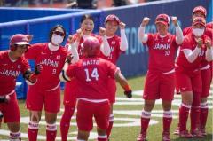 ソフト日本代表が豪州に5回コールドで8-1 上野由岐子は4717日ぶり五輪白星