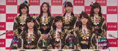 AKB48でアルバイト