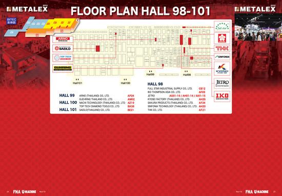 METALEX_2019_FloorPlan_Hall98-101