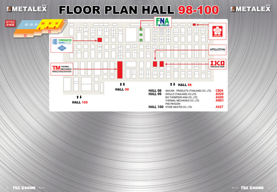 9 METALEX_2020_FloorPlan_Hall 98-100