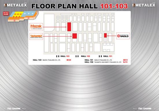 10 METALEX_2020_FloorPlan_Hall 101-103