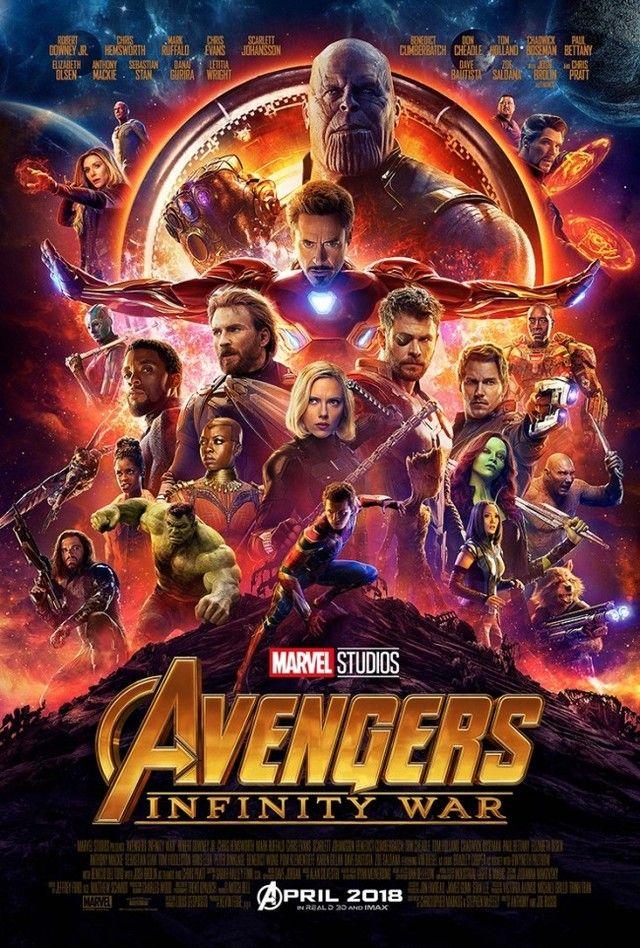 【映画】『アベンジャーズ』新作、大迫力の予告&キャラ総出演のポスター解禁 最凶最悪の敵・サノスの目的が明らかに