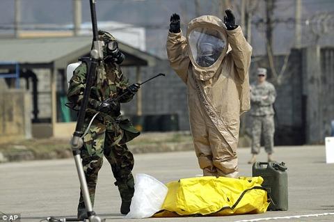 【画像】 アメリカ軍、姿を見えなくする「透明化スーツ」を開発中