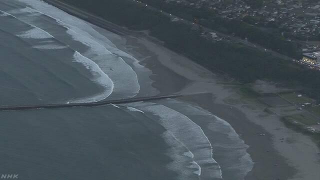 茨城・大洗町大貫町の海岸ではまぐりを取りに行った2人が心肺停止になり死亡