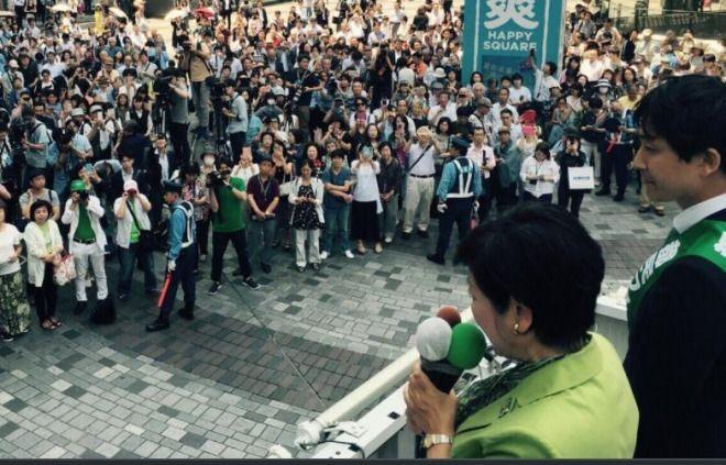 東京都議選、各党が第一声!自民は最大級の総力戦!自民:議会 民進:自民が 都民ファ:子育て
