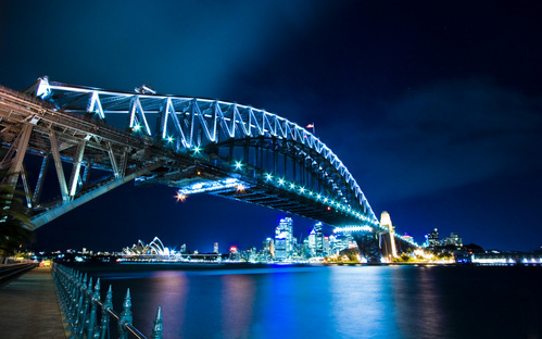 Sydney_Harbour_Bridge_WP_by_revenantprime