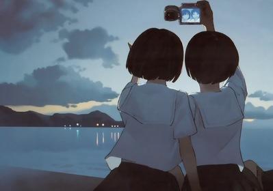 com - 37652 2girls beach camera seifuku tagme takamichi