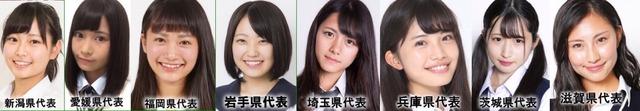 【速報】日本一可愛い女子高生2017のベスト8が出揃う