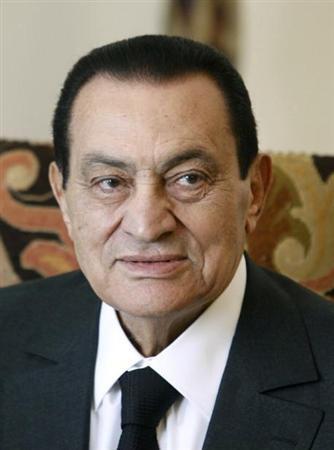 エジプト ムバラク元大統領 : 写...