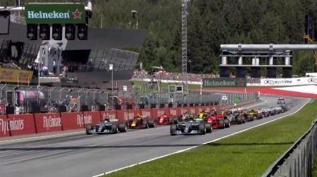週末のF1オーストリアGPは灼熱のレースに?