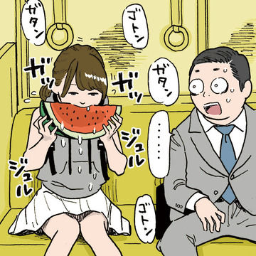 電車内で食べてもギリ許せるもの