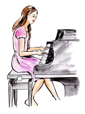 【画像】ピアノユーチューバーさん、露骨に露出が増えていく様子www