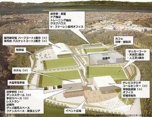 【サッカー】<V・ファーレン長崎の練習拠点整備計画>ジャパネットが最新イメージ図公表!