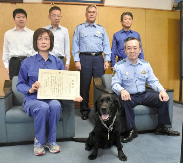 【驚愕】警察犬が有能過ぎるwwwwwwwwwwww