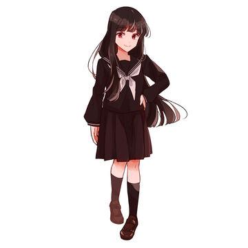 【画像】女子高生の靴下が短くなりすぎてもはや見えないw
