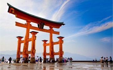 世界遺産「厳島神社」の大鳥居が倒壊危機