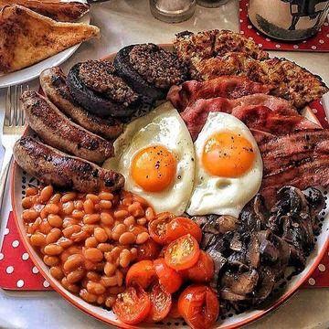 【画像】アメリカ人の一般的な朝食が公開されるwwwww