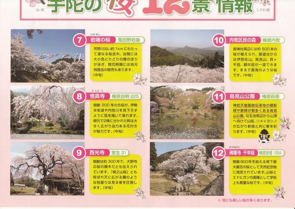 宇陀市桜マップ4