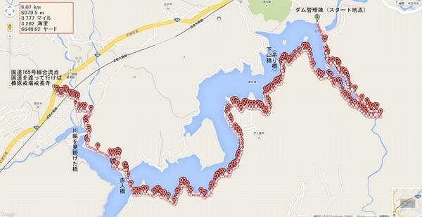 室生ダム湖一周