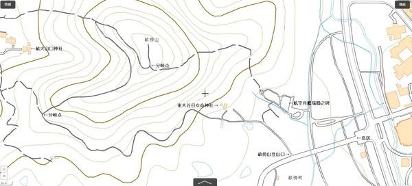 畝傍山地図