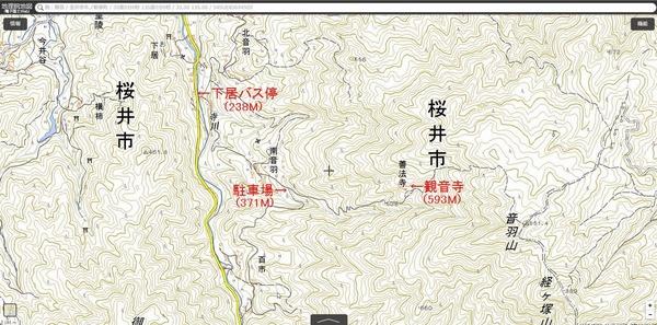 観音寺地図