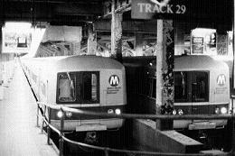 メトロ電車