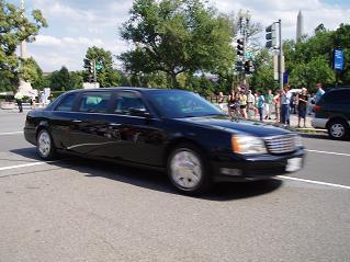 ブッシュの車