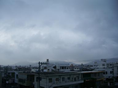 石垣島の雲