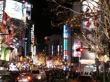 渋谷クリスマス