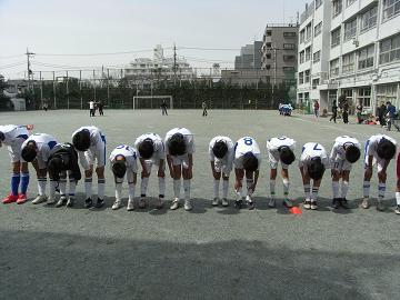 サッカー礼