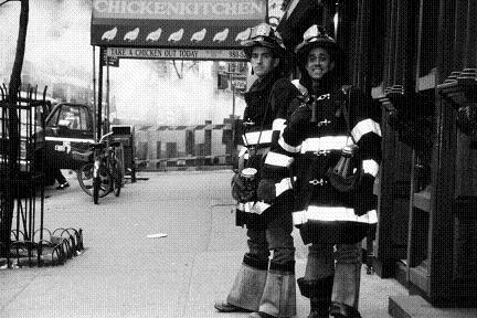 消防士たち