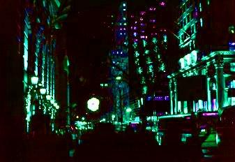 夜の幻想アベニュー