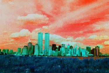 朱色の空とWTC