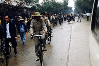 町並み自転車