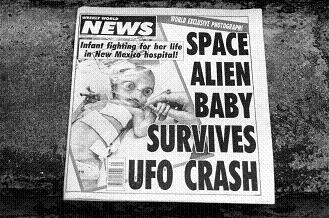 宇宙人の赤ちゃん