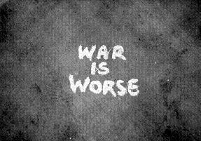 戦争は最悪