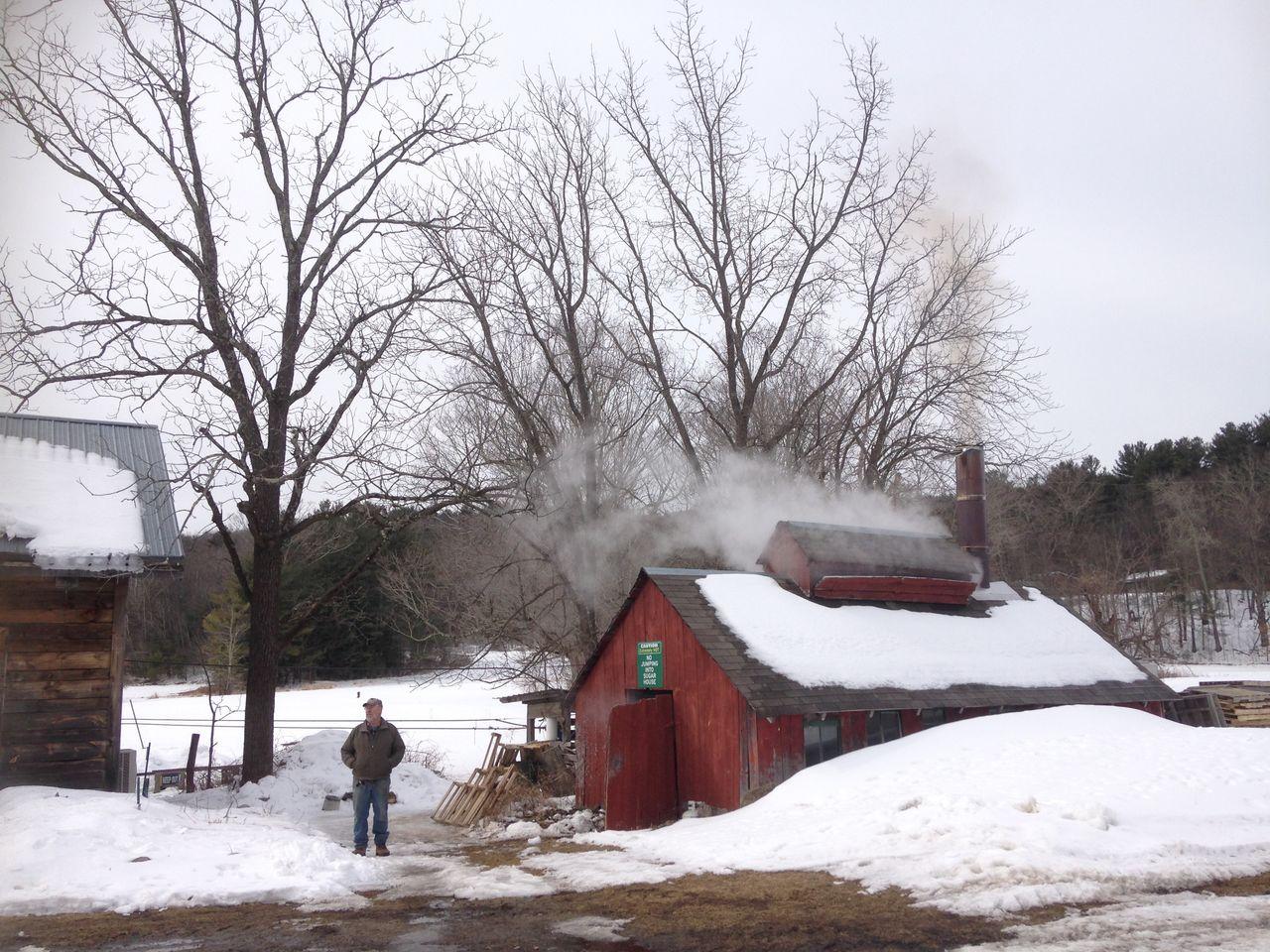 古い小屋ロング