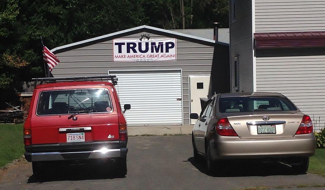トランプ支持の家