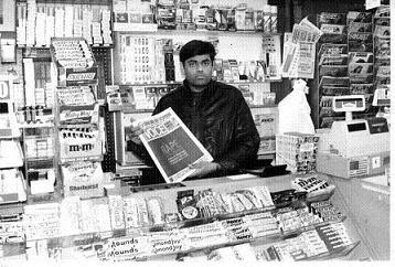 インド人の新聞や